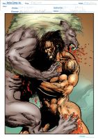 Wolverine and Humanimals1 by tonydax