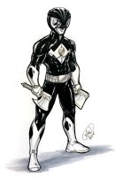 Black Ranger by AdamWithers