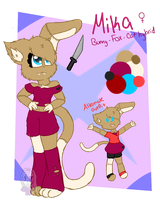 Mika refsheet by Fairybunny99
