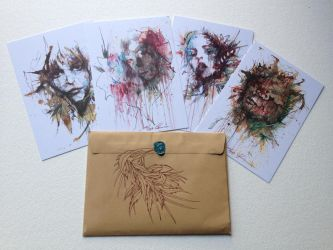 Winter Postcards Ready by Carnegriff