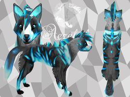 Blue Fire Wolf Preset - Free by Aezekel