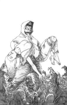 Tommy Zombie #3 Pencils by BillDinh