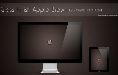 Glass Finish Apple Minimal by solutionall