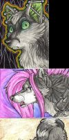 ACEO Trades and Commission by HowlingWolfSong