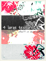 floral texture set by pflee77