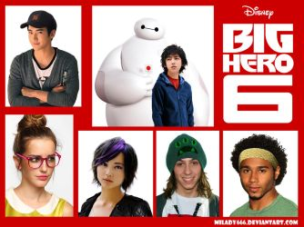 Big Hero 6 real life characters by Milady666