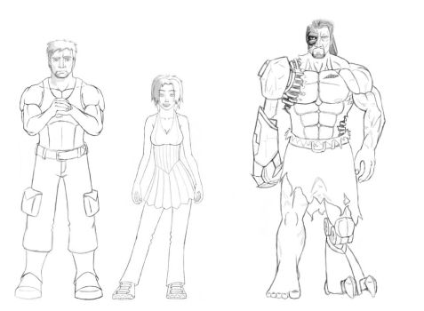 Characters by rtoo