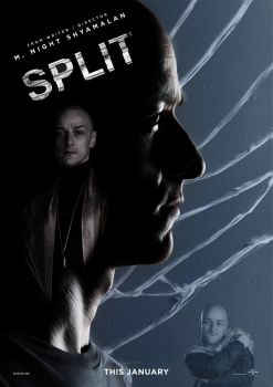 CDW - Split Movie Poster - March 2017 by SouthernDesigner