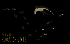 Flock of Birds - FeralHeart Mesh by giddyfox