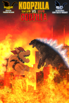 Koopzilla vs. Godzilla Comic - Cover by AsylusGoji91