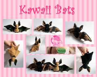 Kawaii Bats! by Ishtar-Creations