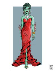Fashionproject Thrandrall Evening Gown by AutumnNatural