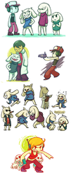 cave story by Socks-and-Notebooks