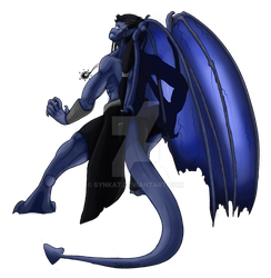 Character Creation: Avion the Gargoyle by Synkat