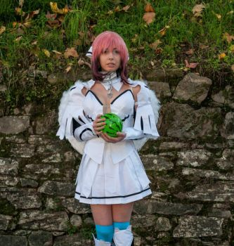 Ikaros cosplay photography by RikaChocolat
