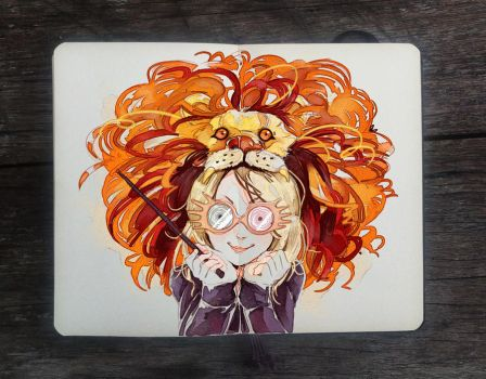 .: Luna Lovegood by Picolo-kun