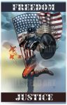 Modern Varaint to American Dream Poster by IronWarrior777