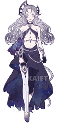 Celestial Adoptable Auction (CLOSED) by Kaiet