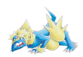 Lt. Surge into Manectric 04