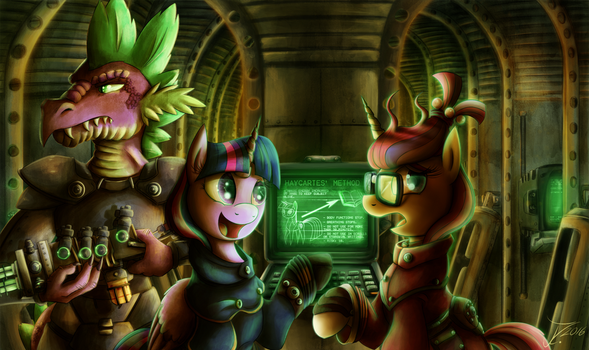 Fanart - MLP. Brotherhood of Adorkable by jamescorck