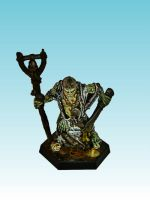 Nurgle Champion with bellstaff and sword by Nergling