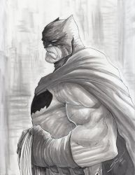 Batman Dark Knight by Sandoval-Art