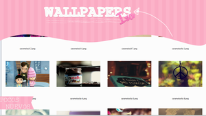 Wallpapers by Caramelosita