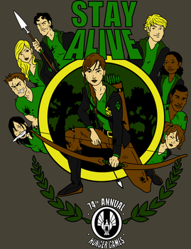 Hunger Games Stay Alive by Mbecks14