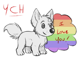 [YCH] Pride Month, Show your Love~ (CLOSED) by Plumpig