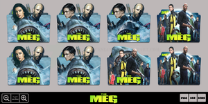 The Meg (2018) Folder Icon Pack by Bl4CKSL4YER