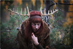 Wooden Shaman Antlers #2 by Nymla