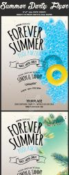 Summer Psd Flyer Template by Hotpindesigns