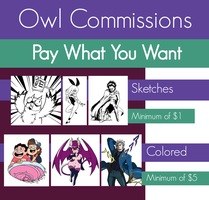 Commission Info (PAY WHAT YOU WANT) by MDSK-RB