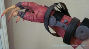 Deathclaw Gauntlet by fromzombieswithlove