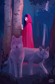 Red Riding Hood by teyoliia
