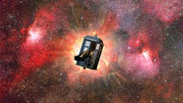 Doctor Who: Exploding tardis by sweet92590