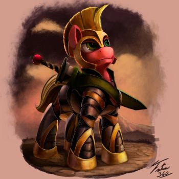 Big Mac Warrior_Kallisti IV Request 3 by Tsitra360