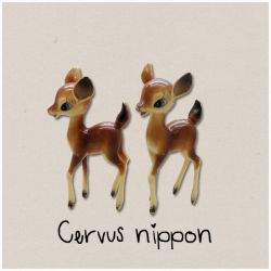 Cervus nippon by egg9700