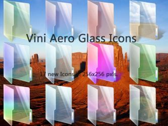 New Vini Glass Icons by Vinis13
