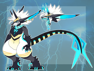Static (SECONDARY SONA REF!) by Honey-Beest