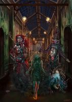 Bedlam Stories Cover 1 by raffa3le