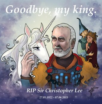 Christopher Lee tribute: The king is dead by Phantagrafie