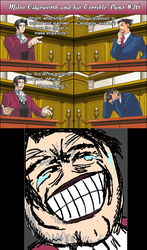 Miles Edgeworth and His Terrible Puns #26 by DarkMatter89