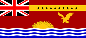 Flag of the Oceanian Empire by wolfmoon25