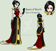Down The Rabbit Hole - Queen of Hearts by MaliceInTheAbyss