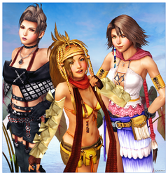 FFX2 Ladies 01 by mylochka