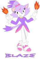 Blaze by IceQEEN14 Inked by LuckyHRE
