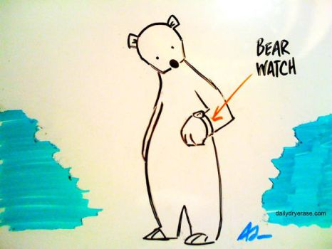 bear watch by adamcloud