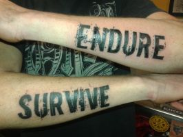 Endure/Survive by SputnikJr