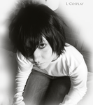 L Lawliet [COSPLAY] by Akito-OwO